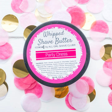 Party Dress - Limited Edition - Whipped Shave Butter