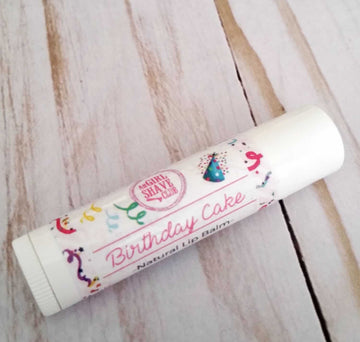 All Natural Lip Balm (Birthday Cake)