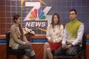 7&4 News - Ugly Christmas Sweaters