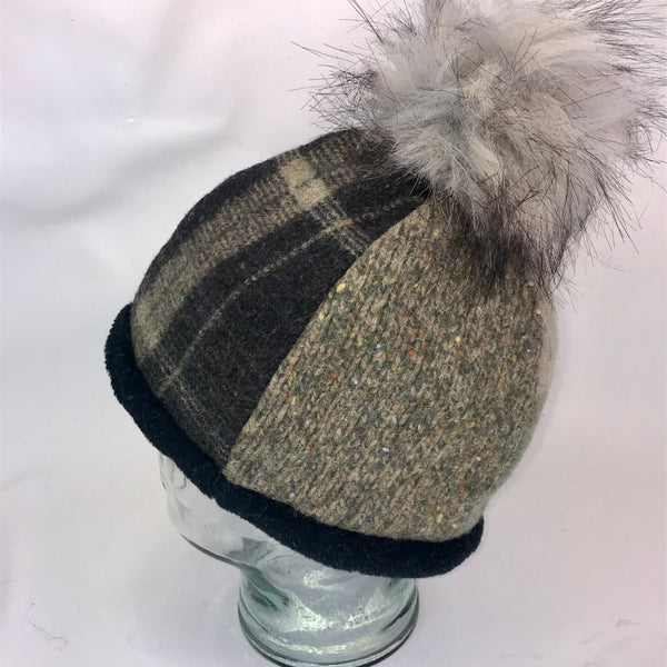 One of a Kind Pom Pom Hat 147
