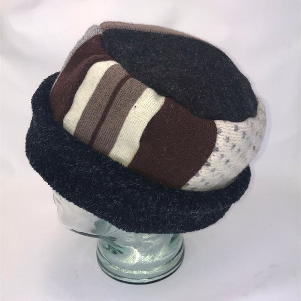 One of a Kind Pillbox Hat 145