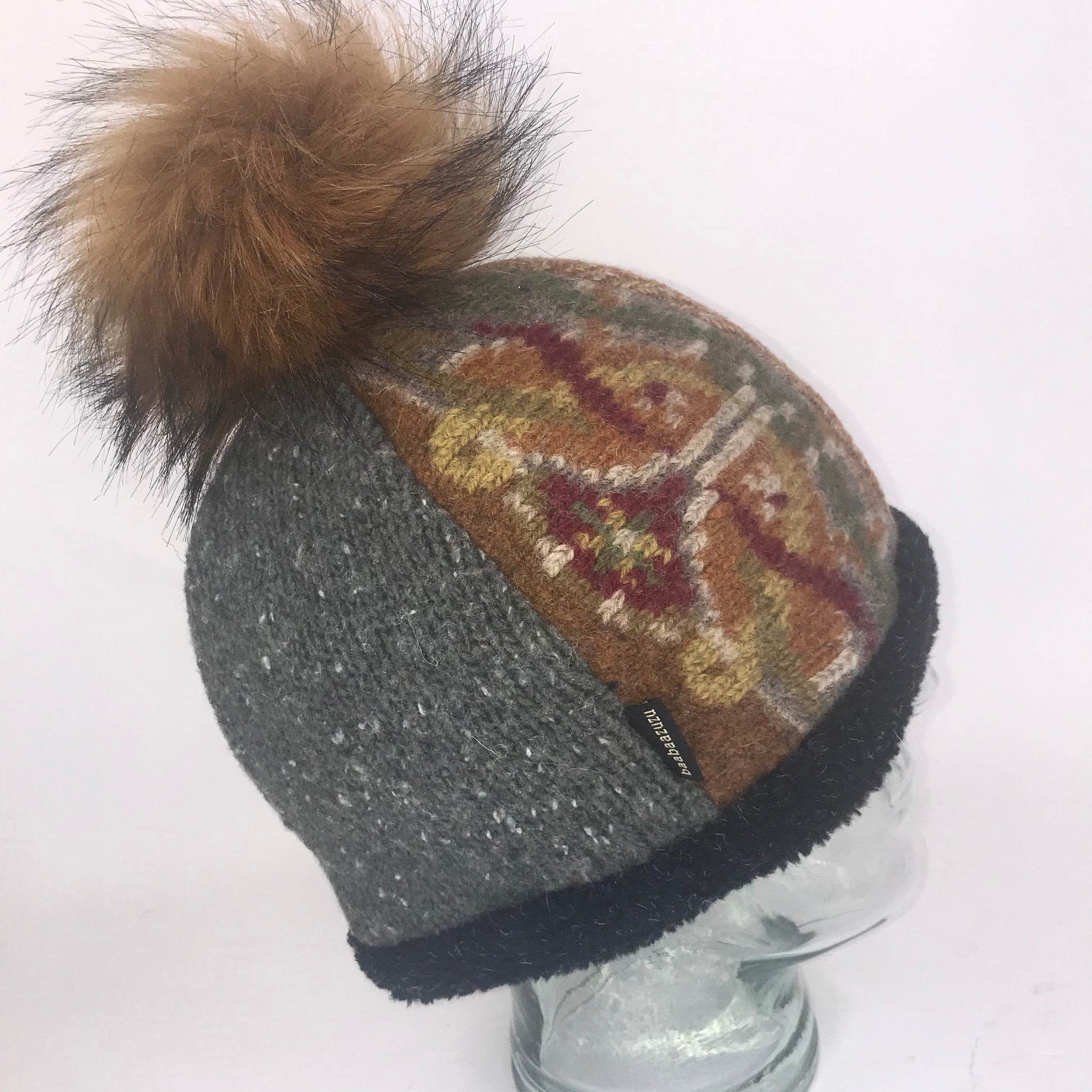 One of a Kind Pom Pom Hat 134