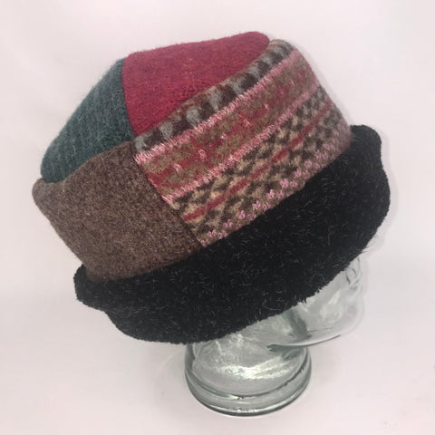 One of a Kind Pillbox Hat 127