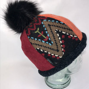 One of a Kind Pom Pom Hat 145