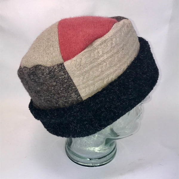 One of a Kind Pillbox Hat 138