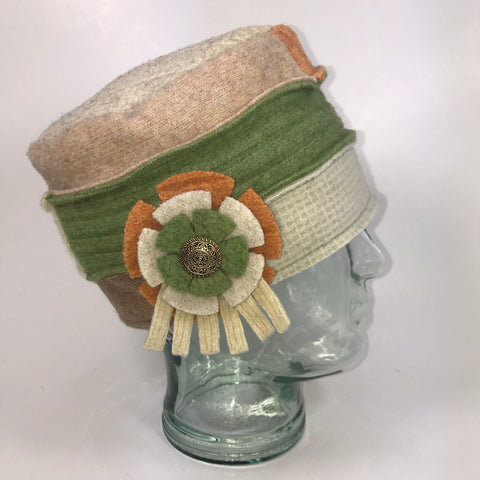 One of a Kind Cloche Hat  111