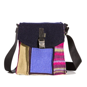 Upcycled Wool Women's City Bag