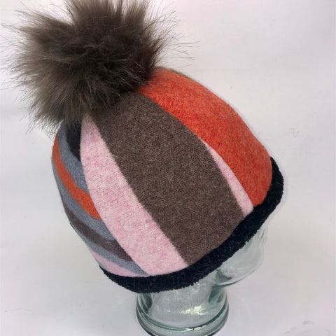 One of a Kind Pom Pom Hat 151
