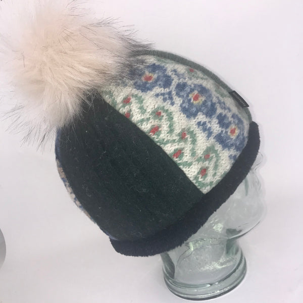 One of a Kind Pom Pom Hat 131