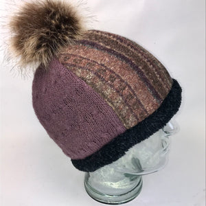 One of a Kind Pom Pom Hat 137