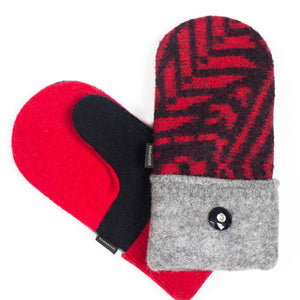 Upcycled Wool Women's Sweater Mittens