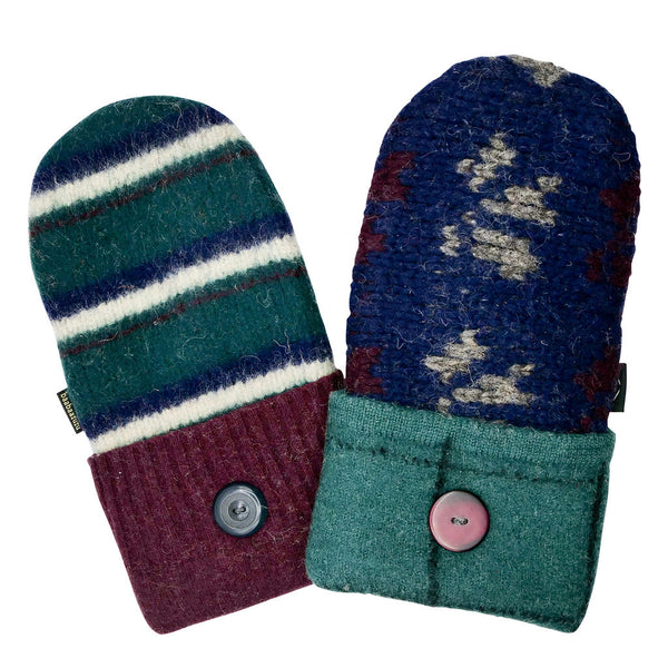 jewel toned sweater mittens for sale