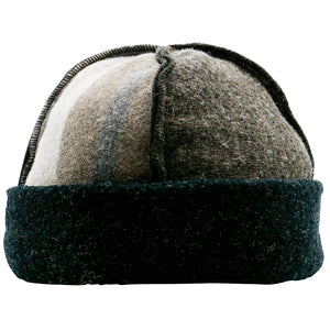 Upcycled Wool Men's Seamed Winter Hat