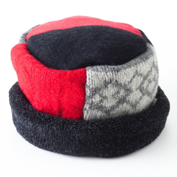 Rolled Pillbox Hat