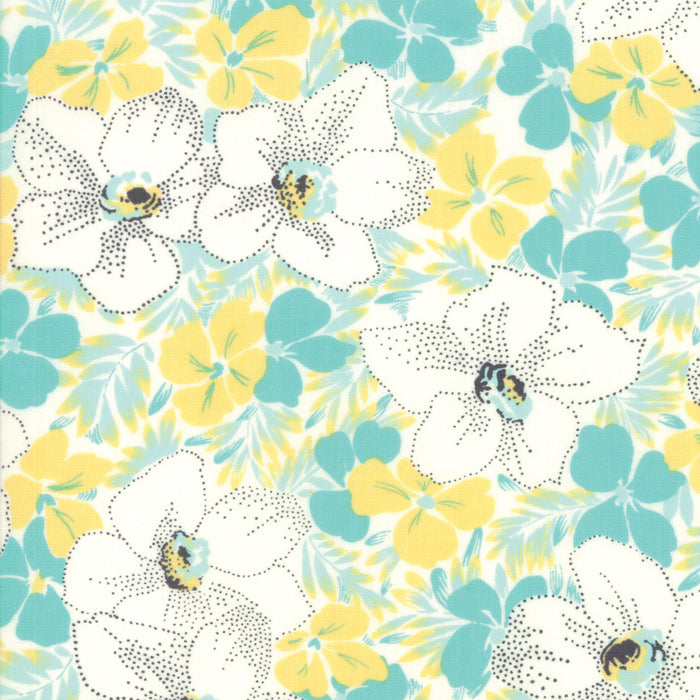 Jen Kingwell Fine and Sunny Alstroe Bubblegum Fabric