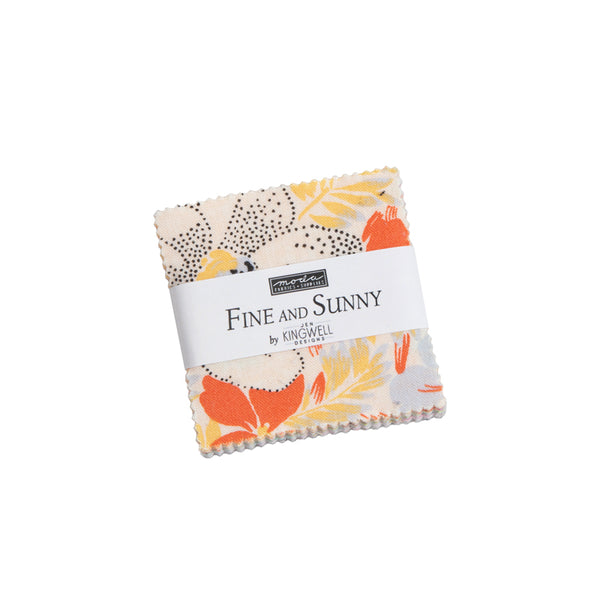 Fine and Sunny Charm Squares