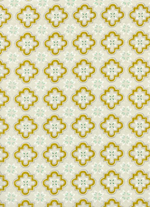 Porch Tile Mustard