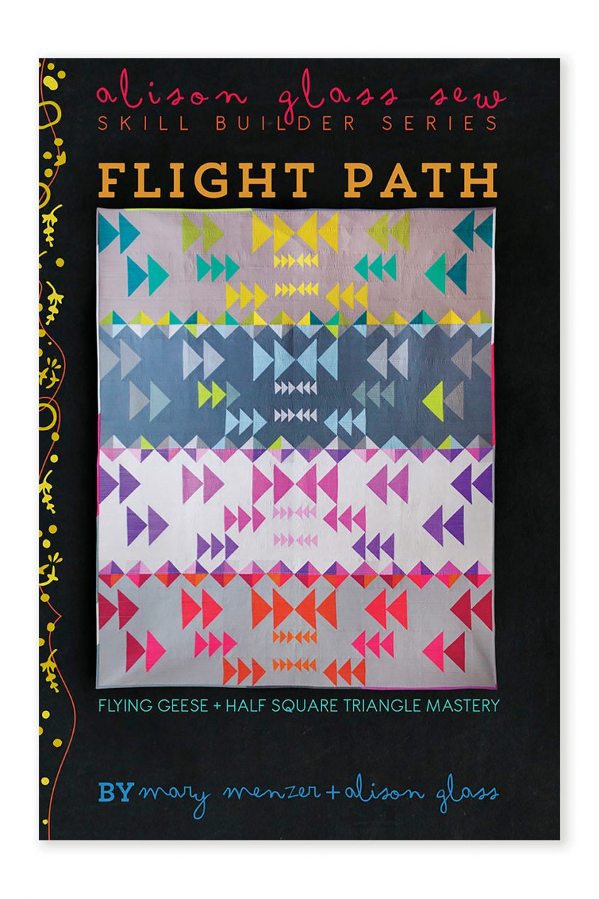 Flight Path Quilt Pattern