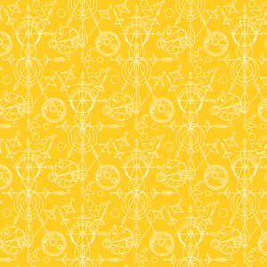 Alison Glass Sun Print Mercury Yellow