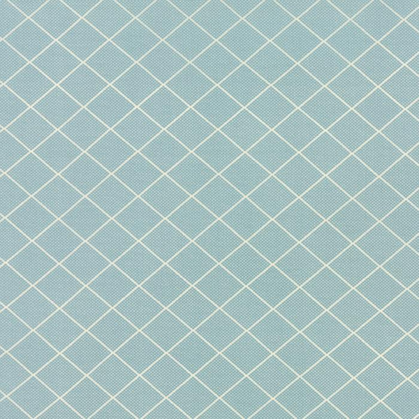 Diamond Grid Light Blue
