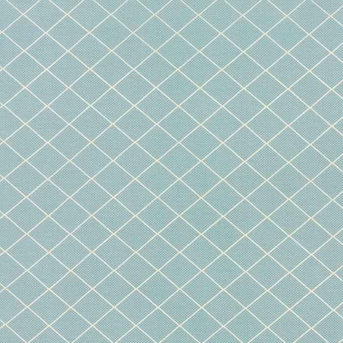 Bread N Butter Diamond Grid Light Blue