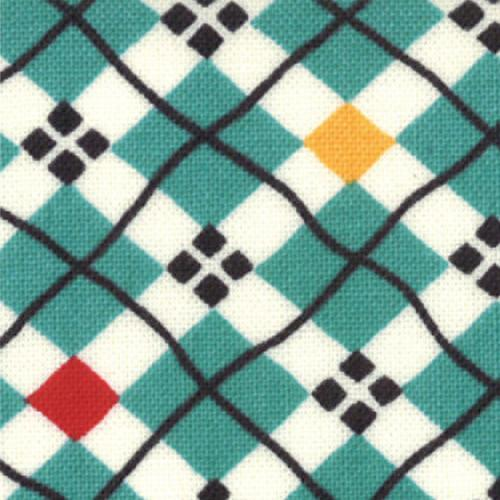 Porridge Plaid Aqua