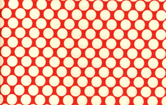 Full Moon Polka Dots Cherry