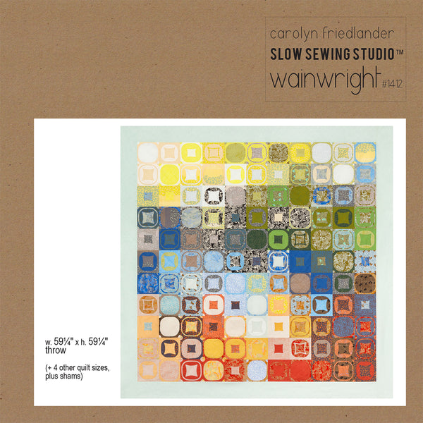 Wainwright Quilt Pattern