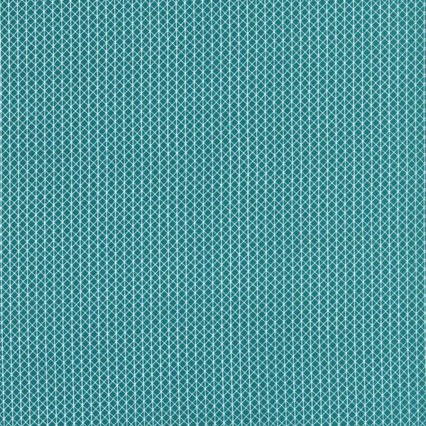 Cotton + Steel Basics Netorious Teal