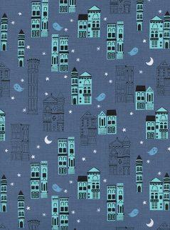 Haunted City Blue