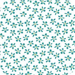 Meet The Gang Daisy Toss Teal A-5631-T
