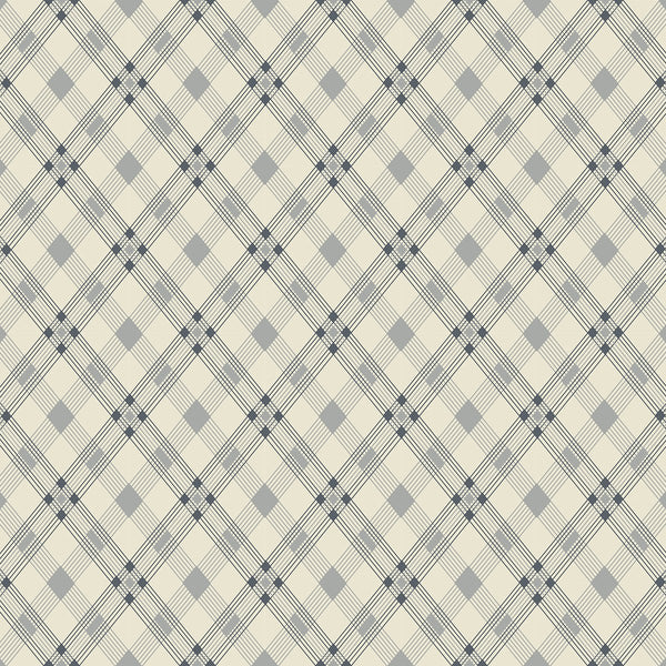 Open Plaid Linoleum