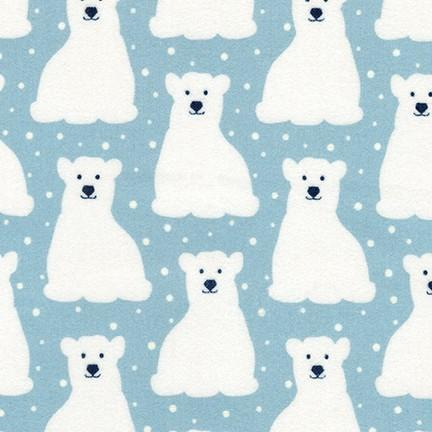 Arctic Flannel Bears Powder AZHF-17701-65