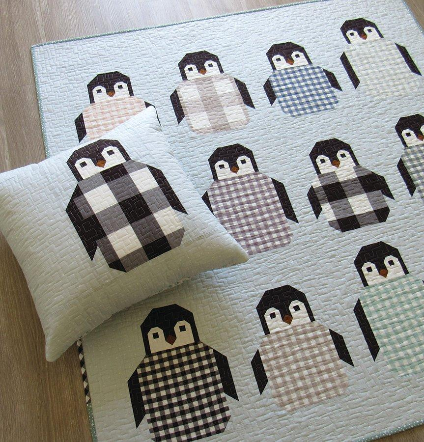 Penguin Party Quilt Pattern
