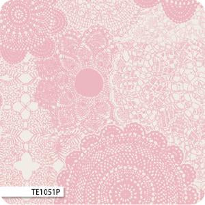 Cotton Forest Lace Pink