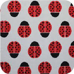 Ladybugs Red Canvas