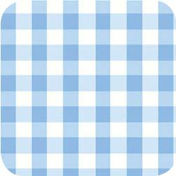 Le Elephant Gingham Blue