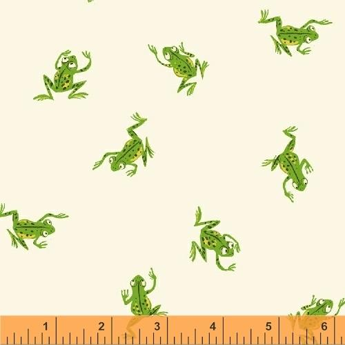 "Frogs White - 13"" x 44"""