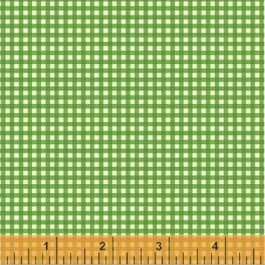 Trixie Gingham in Kelly Green by Heather Ross 50900-6
