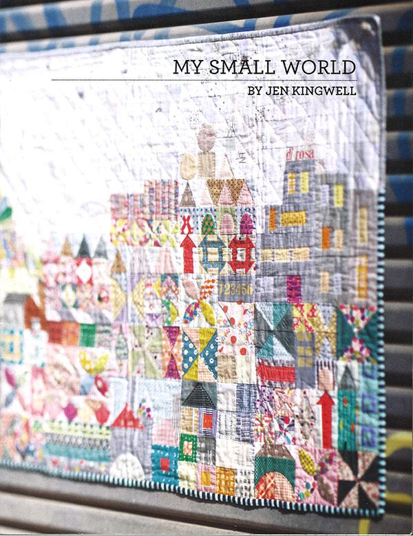 My Small World Quilt Pattern