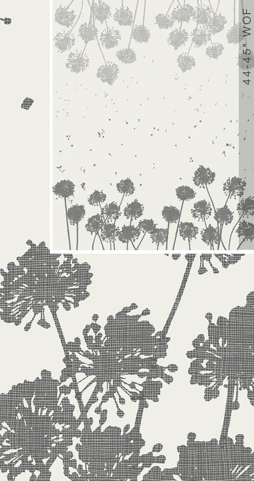 Avant Garde Taraxacum Panel Grey