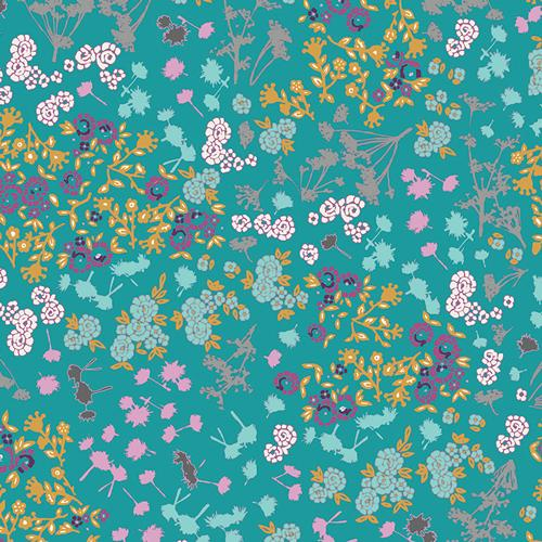 Indelible Floret Stains Tealberry