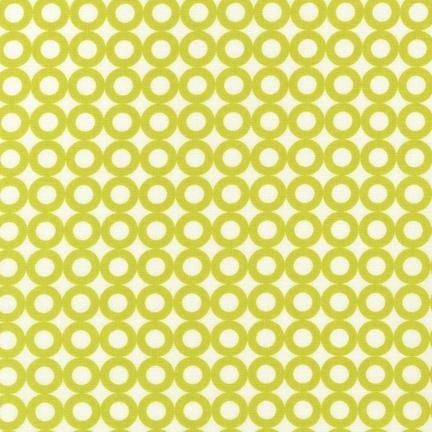 Modern Whimsy Circles Lime