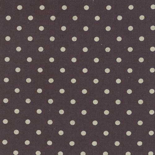 Dot Chocolate Linen Blend