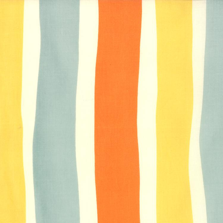 Oh Deer Whimsy Stripes Creamsicle