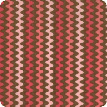 Exhibit Stripe Coffee Pink
