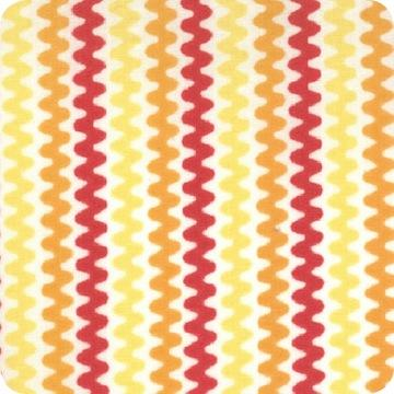 Modern Workshop Exhibit Stripe Orange Yellow