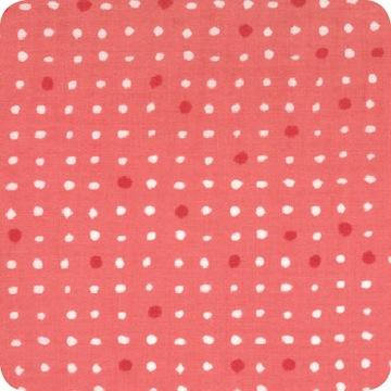 Modern Workshop Roundabout Dots Frothy Pink