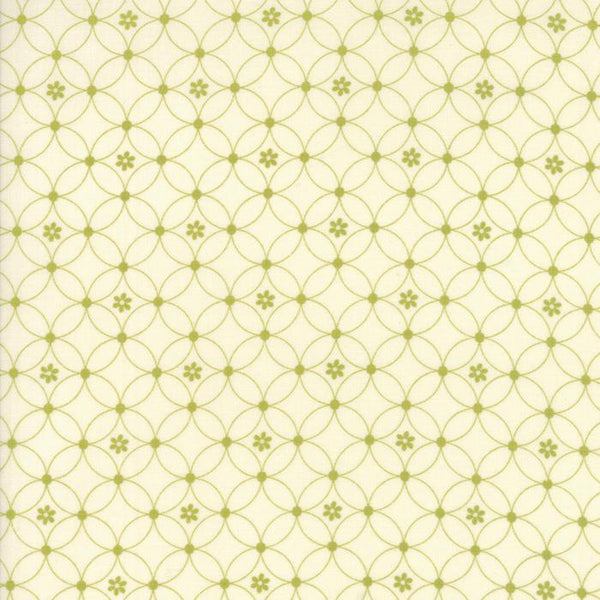 Garden Gate Cream Green