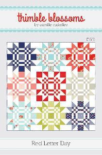 Red Letter Day Quilt Pattern